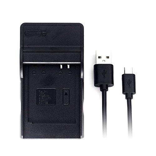 NB-6L Ultra Slim USB Charger for Canon PowerShot SX530 HS, SX610 HS, SX710 HS, SD1200 is, SD1300 is, S120 IXY 10S IXY 30S Camera and More