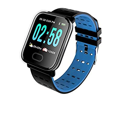 HFXLH Colorful Wristband Smart Bracelet Heart Rate Blood pressure Waterproof Fitness Tracker Watch Estimated Price £30.78 -