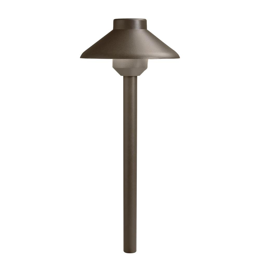 Kichler Lighting 15821AZT Aluminum LED Path Light, Textured Architectural Bronze by Kichler Lighting [並行輸入品] B018A228W2