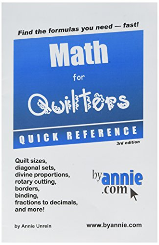 quilters reference - 6