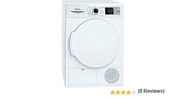 Balay 3SB285B Independiente Carga frontal 8kg A+ Blanco - Secadora ...