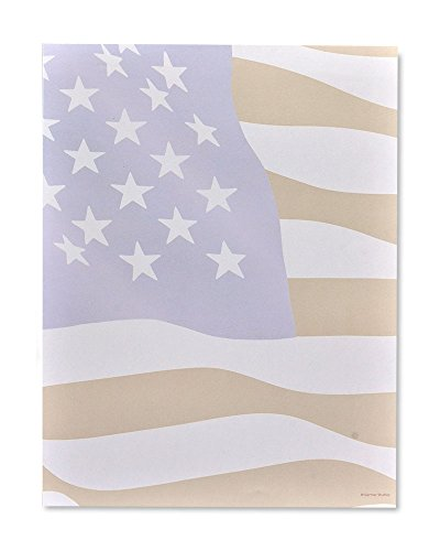 American Flag Stationery Paper - 100 Count ()