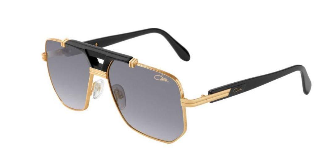 Cazal Gafas de Sol LEGENDS 990 BLACK KT GOLD/GREY hombre ...