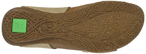 Sandali Aperta Grigio Punta N5061 Donna piedra Naturalista El PqIE77