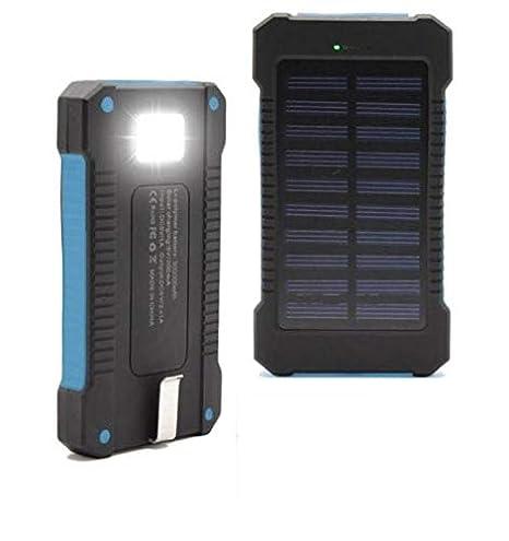 Amazon.com: Impermeable 300000 mAh cargador solar portátil ...