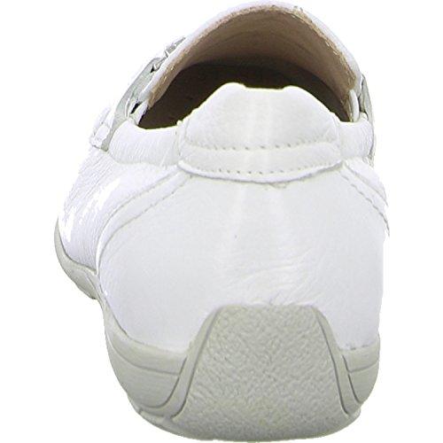 Caprice 24661 Damen Slipper White Deer