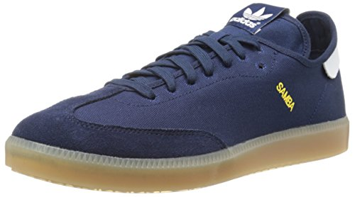 uk availability a0895 36ee2 adidas Originals Mens Samba MC Lifestyle Indoor Soccer-Style Sneaker,  Collegiate NavyRunning