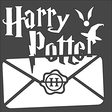 Amazon.com: Stencils for Painting Magic Harry Potter Hat Letter