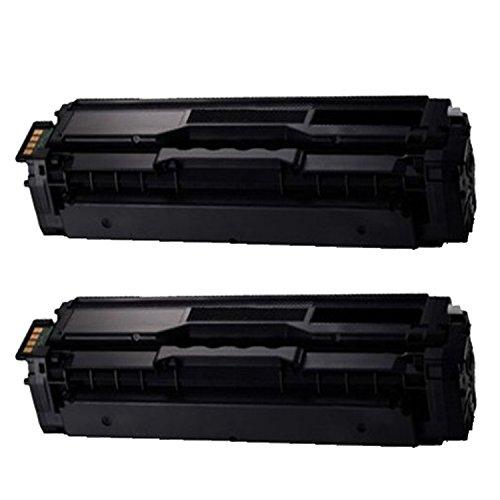 compatible for CLT-K504S compatible 2 Pack Black toner cartridges replacement for Xpress SL-C1810W,SL-C1860FW,CLX-4195FN, CLX-4195FW, CLP-415NW color laser (Clx 4195fw Color)