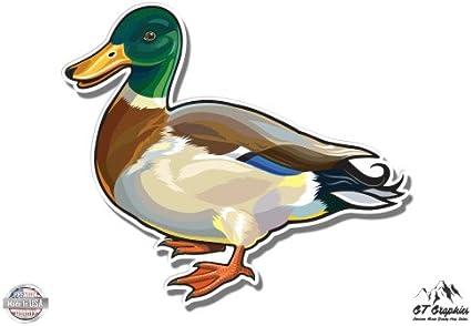 Mallard Duck Vinyl Sticker Waterproof Decal