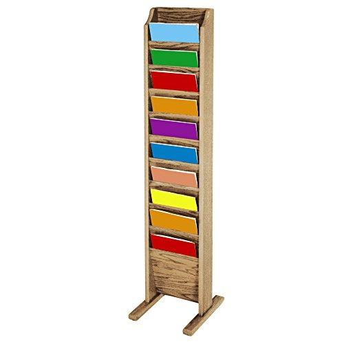 freestanding literature rack - 6