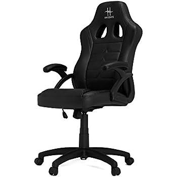 HHGears SM115 PC Gaming Racing Chair Black