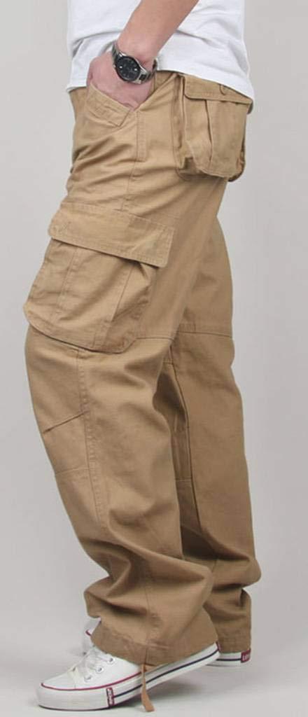 CATERTO Mens Spring Cargo Long Pants Outdoor Wear Lightweight Zoe