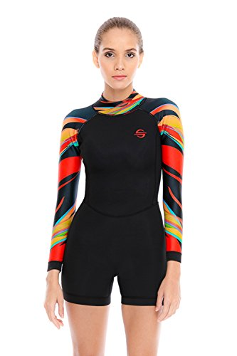 Platinum Sun Neoprene Womens Wetsuit Shorty Attina XS (Wetsuit Womens Shorty)