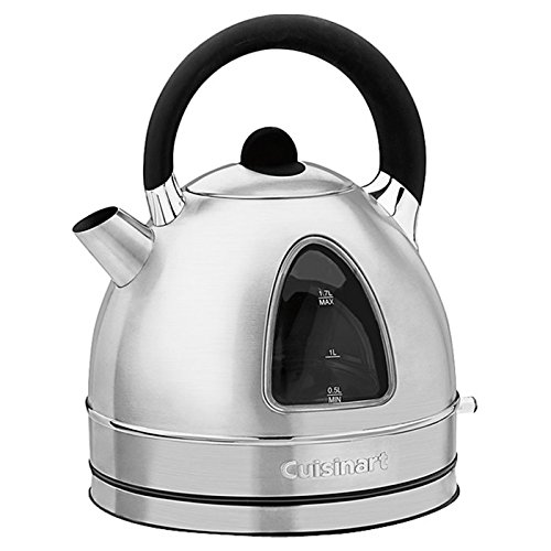 1.7 Liter Cordless Electric Kettle w/ Soft-Touch Handle and Lid Grip Cuisinart Soft Grip Handle