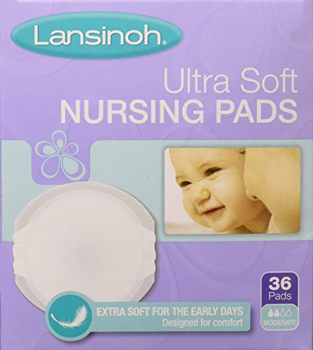 Lansinoh Ultrasoft Disposable Nursing Pads (36 Count)