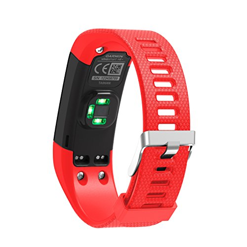 Pour Garmin vivosmart HR + Band, Yustar de remplacement souple en silicone Bracelet sport Bracelet Sangle accessoire pour Garmin vivosmart HR + SUIVI d'activité