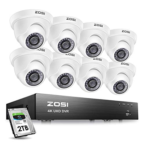 ZOSI Ultra HD 4K Outdoor Security Camera System