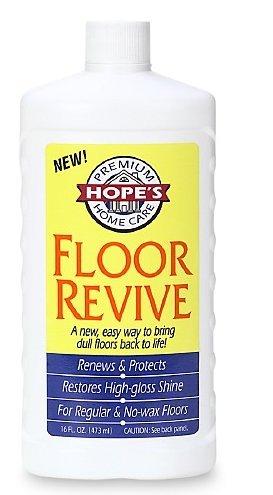 Hope's Premium Home Care Floor Revive 16 oz (473 ml),2 pk