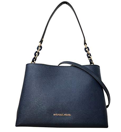 Michael Kors Navy Handbag - 5