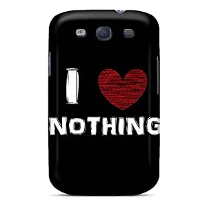 Fashion Protective I Love Nothing Case Cover For Galaxy S3