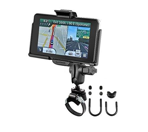 ATV UTV Short Arm Strap Mount Kit fits Garmin nuvi 3450 3450LM 3490LMT 3750 3760T 3760LMT 3790T 3790LMT