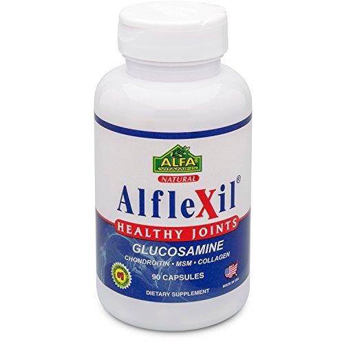 Alflexil-Glucosamine-Chondroitin-Msm-Collagen-Bone-Joint-Knee