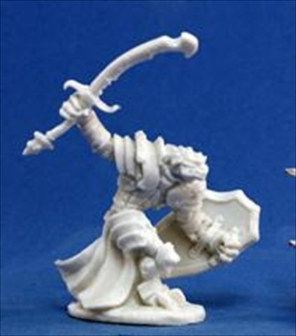 Reaper Miniatures 77060 Bones - Dragonman Warrior
