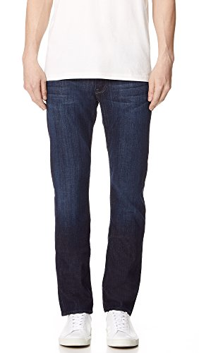 7 For All Mankind Men's Slimmy Slim Straight-Leg Jean, Los Angeles Dark, 32x34 (Seven Straight All Mankind Leg For)