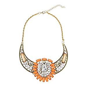Just Showoff Women's Alloy Flower Necklace
