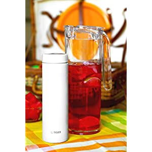 Tiger Insulated Travel Mug, 11-Ounce, White
