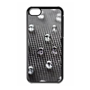 XiFu*Meiiphone 6 plua 5.5 inch Case,Waterdrops on Texture Closeup Hard Shell Back Case for Black iphone 6 plua 5.5 inch Okaycosama369505XiFu*Mei