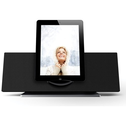 Coby CSMP185 Vitruvian Speaker System for iPad/iPod and iPhone (Black) (Discontinued by manufacturer) by Coby