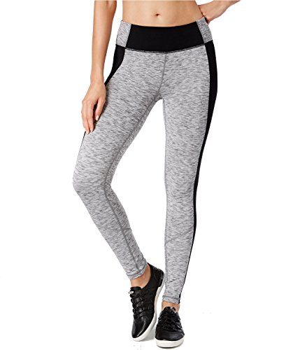 Calvin Klein Womens Performance Space-Dyed Leggings XS Black Gray