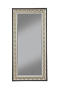 Sandberg furniture 16011 full length leaner for Full length mirror black frame