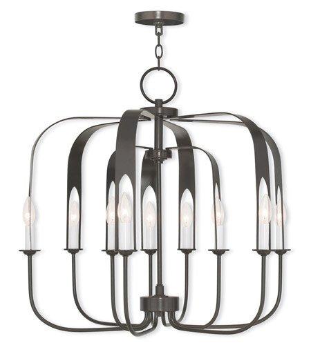 Amazon.com: Chandeliers Addison - Lámpara de techo (9 ...