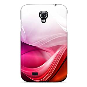 High Quality Photoshop Bright Waves Case For Galaxy S4 / Perfect Case