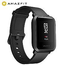 Huami Amazfit Bip Smart Watch, Intelligente Guarda con il GPS, In Tempo Reale di Frequenza Cardiaca, Touch Screen, Impermeabile Sport Fitness and Sleep Tracker, Barometro, Sensore Geomagnetico, Notifica