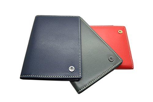 Pacer Go Passport Holder Travel Case for Men and Women Genuine Leather RFID Blocking