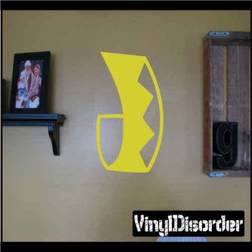 "Vinyl Disorder scrollsMC125 Scrolls Car Wall Decal, 36"", Bla"