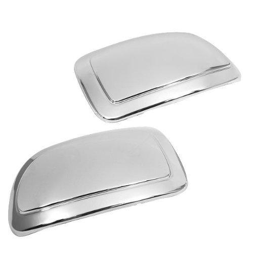 Chrome Side Mirror Cover Trims Kits Fit for 2002-2006 Cadillac Escalade / 2002-2006 Chevy Avalanche / 1999-2006 Chevy Silverado GMC Sierra / 2000-2006 Chevy Suburban Tahoe GMC Yukon