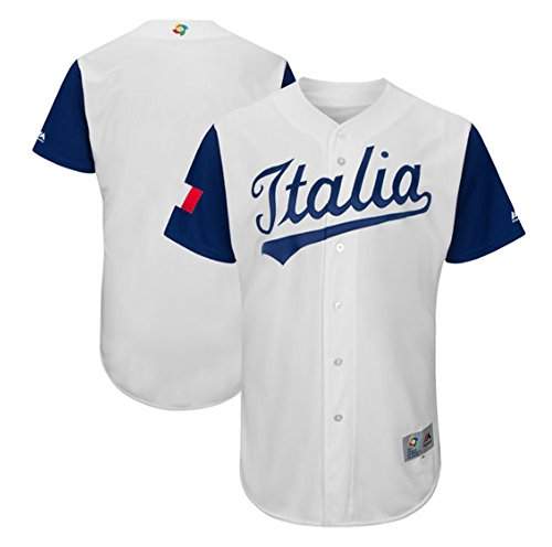 World Baseball Classic Jersey 2017 Italia (2XL) (Italy Baseball Jersey)