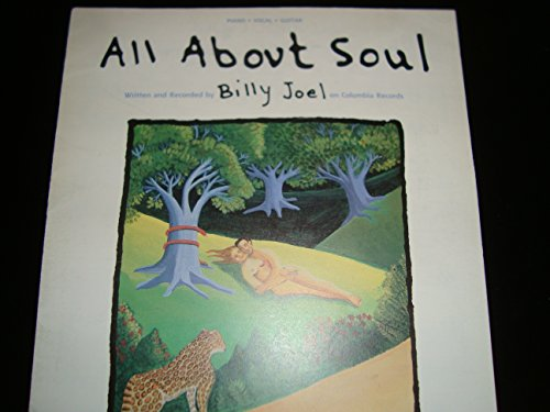 All About Soul / Billy Joel / Piano Vocal Guitar