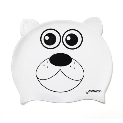 - FINIS Animal Head Swim Cap (Polar Bear)