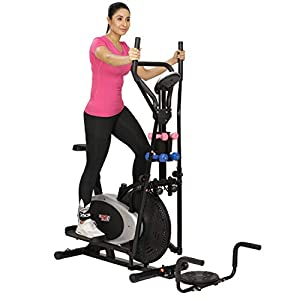 Cardio Max JSB HF150 Orbitrac Exercise Cycle Elliptical Cross Trainer Fitness Bike Mulifunctional Home Gym
