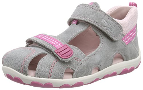 Superfit Fanni 600036 Baby - Mädchen Lauflernschuhe grau (griffin kombi 44)
