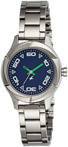 Fastrack Analog Blue Dial Women #39;s Watch NK6141SM02 / NK6141SM02