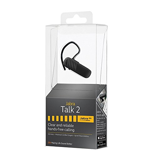 Jabra Talk 2 Bluetooth Headset with HD Voice Technology - 100-92330000-02, Black by Jabra (Image #2)