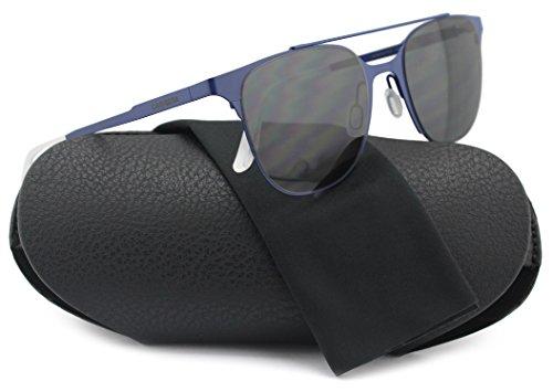 verick Sunglasses Matte Blue w/Crystal Grey (0D6K) D6K P9 51mm Authentic ()