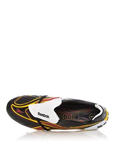 Reebok Botas de fútbol Valde Plus Hg Negro / Blanco / Amarillo EU 44 (US 10.5)